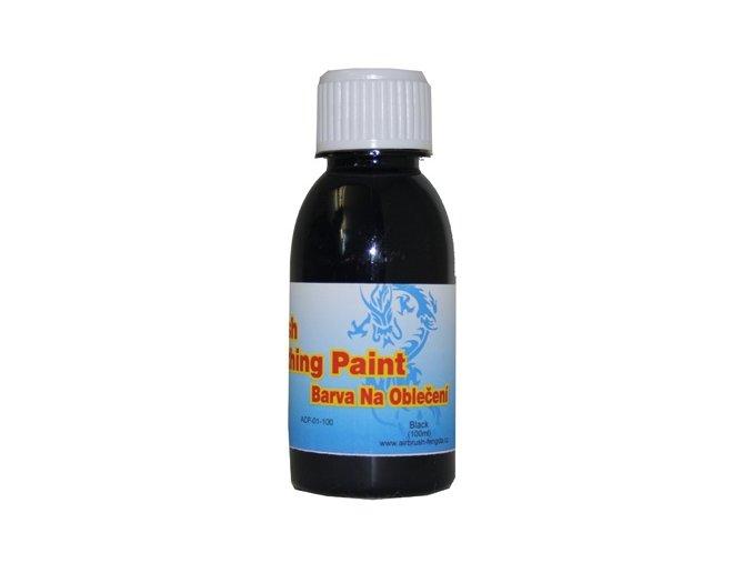 Airbrush ruhaszín Fengda black 100 ml