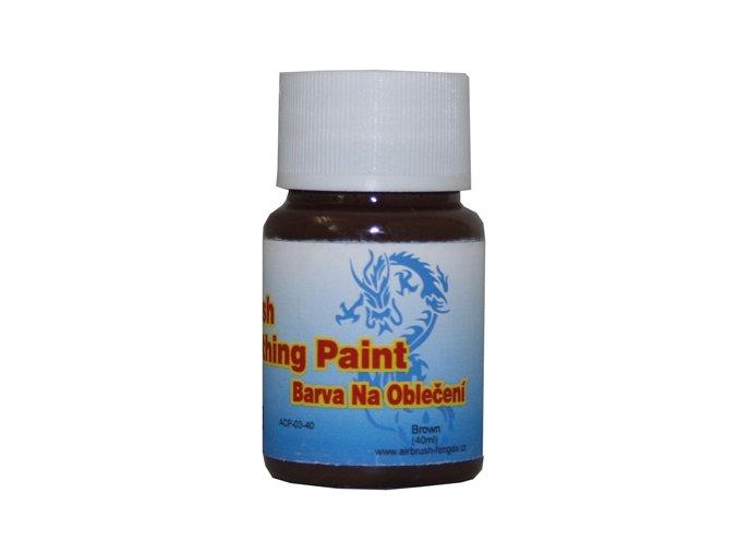 Airbrush ruhaszín Fengda brown 40 ml