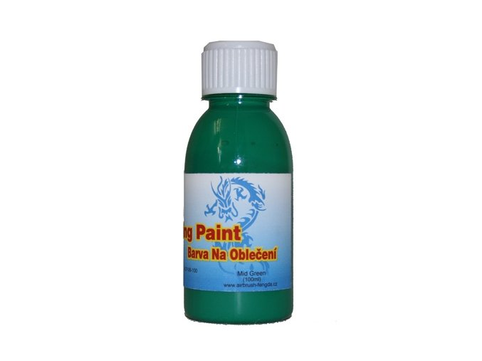 Airbrush ruhaszín Fengda mid green 100 ml