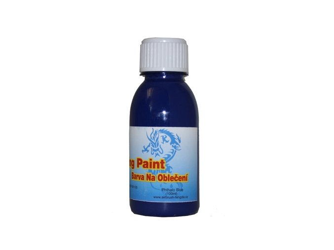 Airbrush ruhaszín Fengda phthalo blue 100 ml
