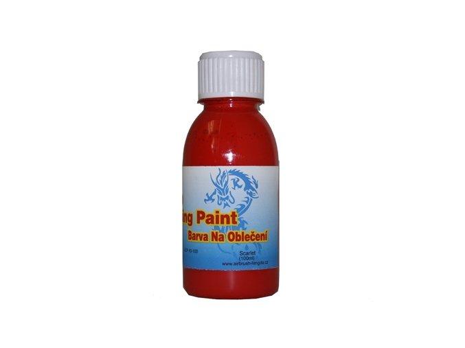 Airbrush ruhaszín Fengda scarlet 100 ml