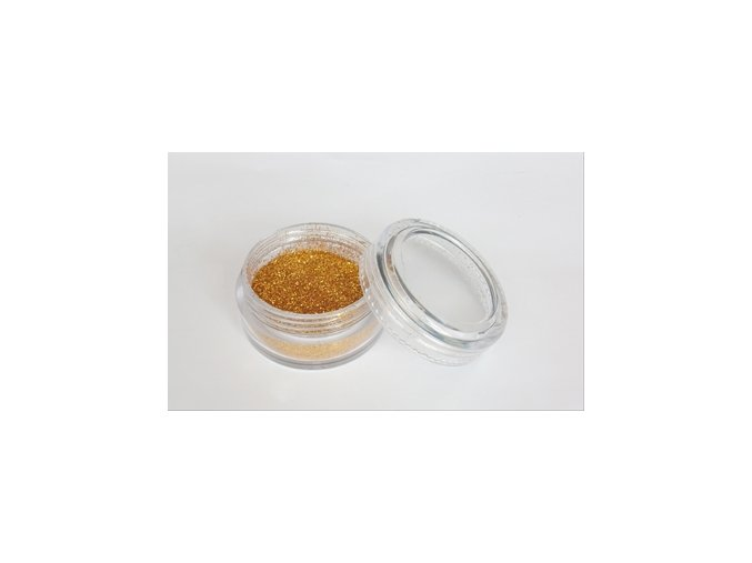 Fengda Glitter 1 / 128 csillogó por golden 10 ml