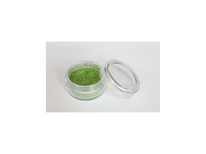 Fengda Glitter 1 / 128 csillogó por grass green 10 ml