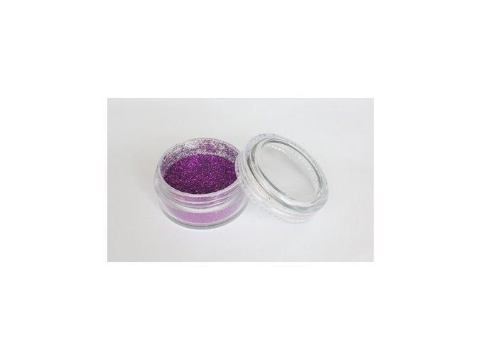 Fengda Glitter 1 / 128 csillogó por purple 10 ml