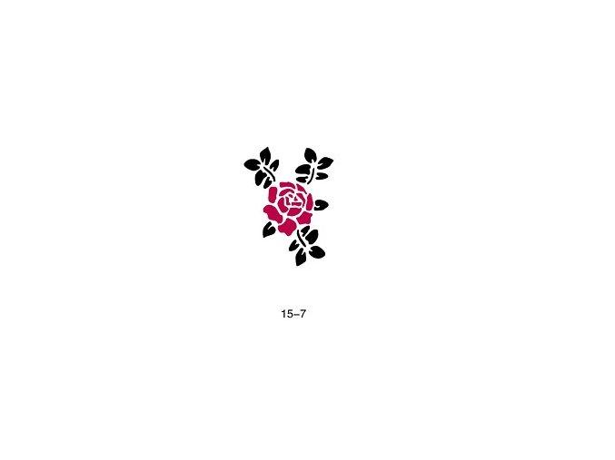 Sablon csillogó tetováláshoz Fengda 15-07