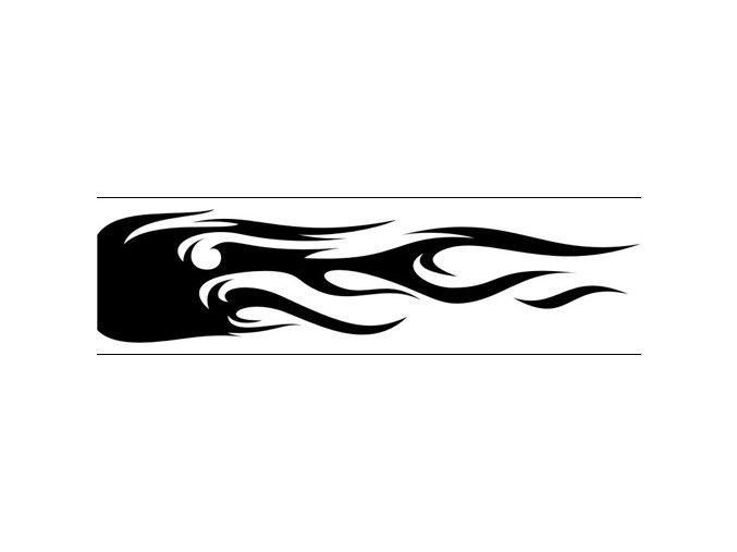 Airbrush sablon lángok/flames C177