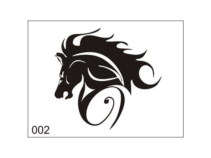 Airbrush tetoválási sablon egyetlen használatra M002