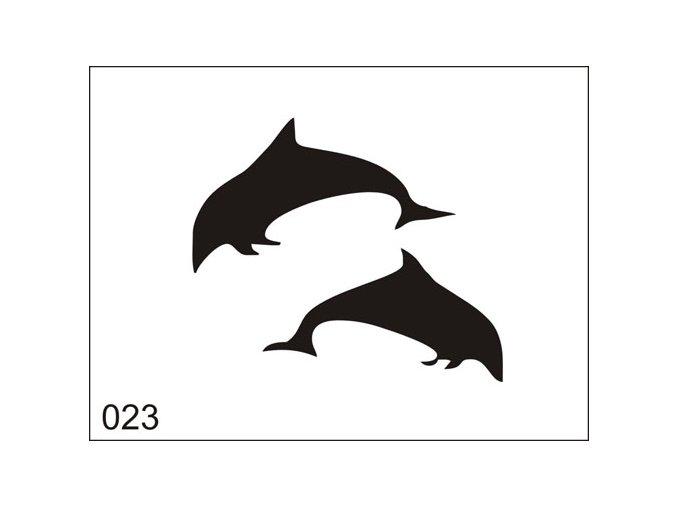 Airbrush tetoválási sablon egyetlen használatra M023