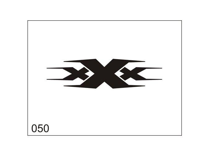 Airbrush tetoválási sablon egyetlen használatra M050