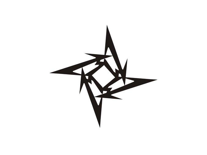 Airbrush tetoválási sablon egyetlen használatra M102