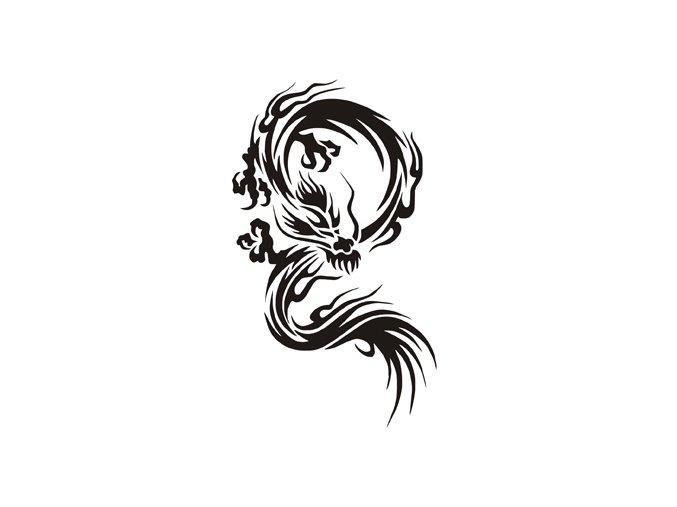 Airbrush tetoválási sablon egyetlen használatra M154
