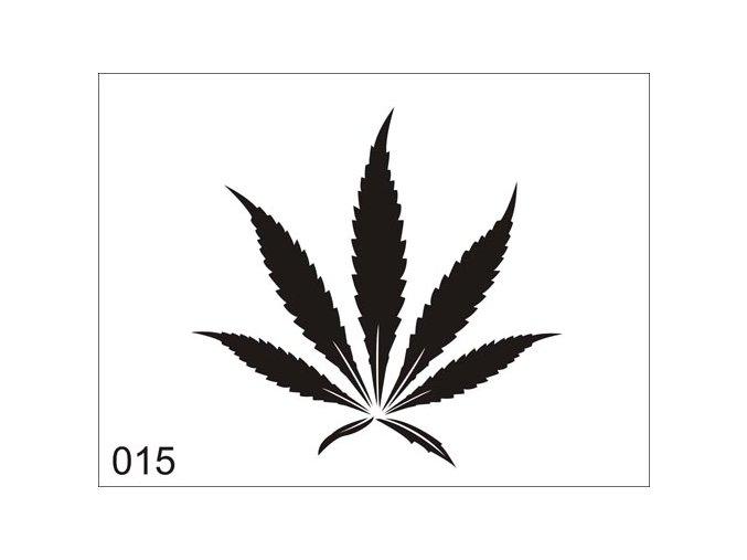 Airbrush tetoválási sablon egyetlen használatra V015