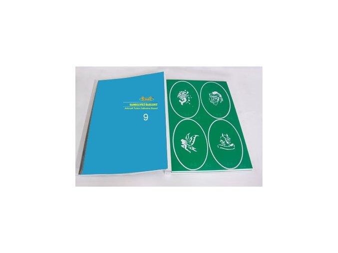 Airbrush tetováló sablon - Könyv 09