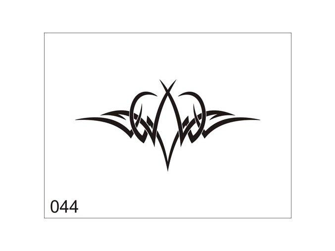 Airbrush tetoválási sablon egyetlen használatra V044