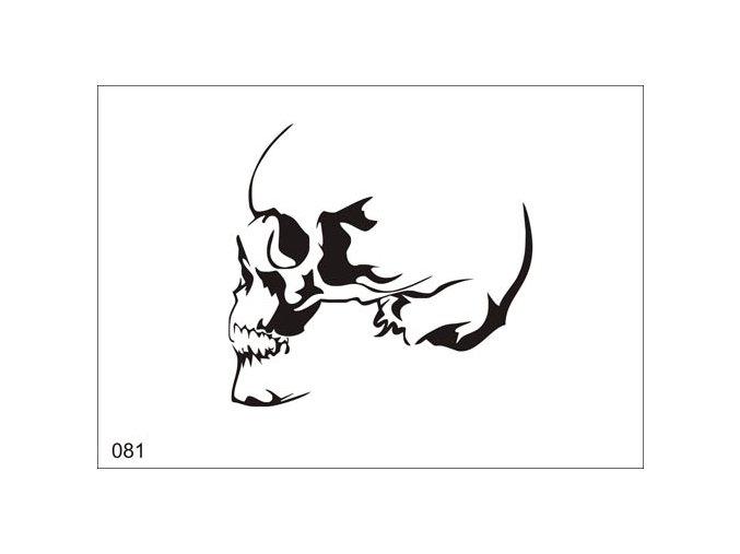 Airbrush tetoválási sablon egyetlen használatra V081