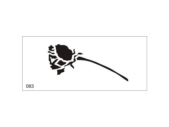Airbrush tetoválási sablon egyetlen használatra V083
