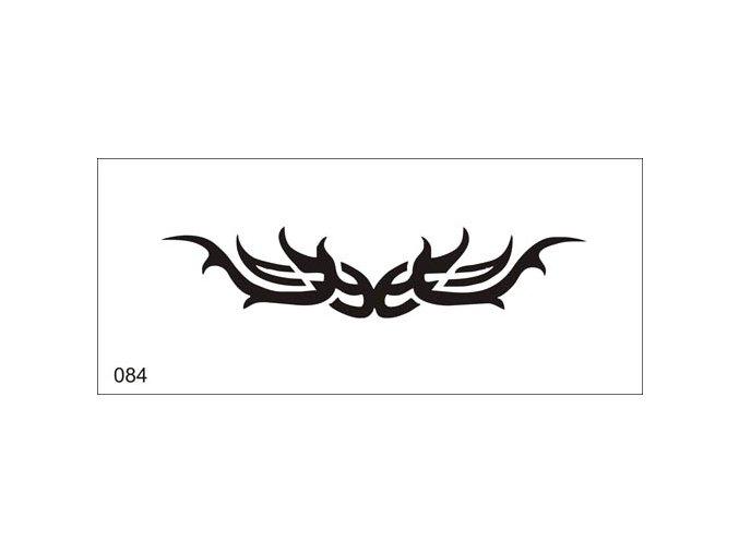 Airbrush tetoválási sablon egyetlen használatra V084