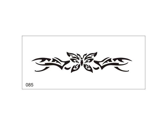 Airbrush tetoválási sablon egyetlen használatra V085