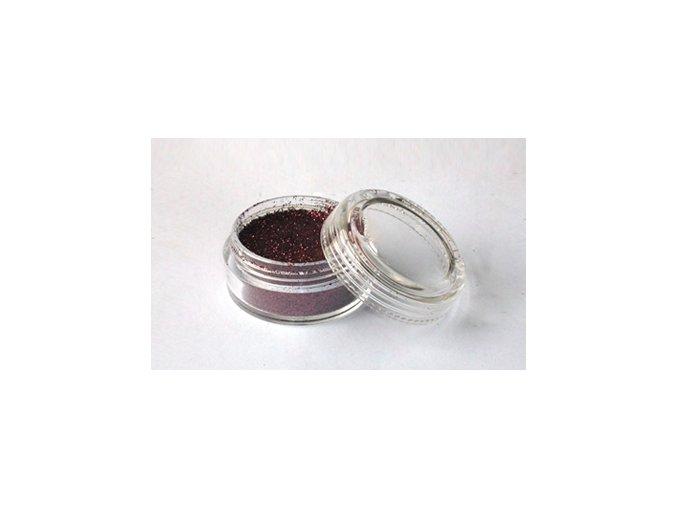 Fengda Glitter csillogó por Dark brown 10 ml