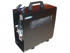 Mini airbrush kompresszor nyomástartó edénnyel Fengda AS-186A