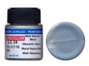 LifeColor LC24 basic matt natural metal szín