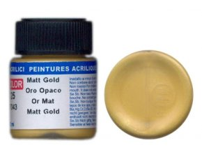 LifeColor LC25 basic matt gold szín