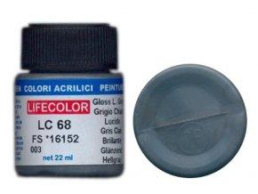 LifeColor LC68 basic gloss light grey szín