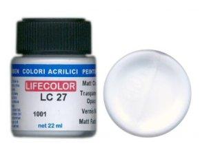 LifeColor Lakk LC27 basic matt clear