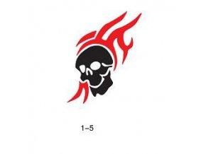 Sablon csillogó tetováláshoz Fengda 01-05