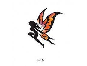 Sablon csillogó tetováláshoz Fengda 01-10