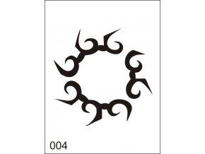 Airbrush tetoválási sablon egyetlen használatra M004