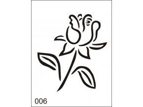 Airbrush tetoválási sablon egyetlen használatra M006