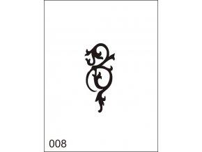 Airbrush tetoválási sablon egyetlen használatra M008