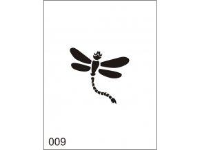 Airbrush tetoválási sablon egyetlen használatra M009