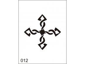 Airbrush tetoválási sablon egyetlen használatra M012