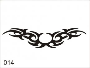 Airbrush tetoválási sablon egyetlen használatra M014