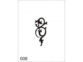 Airbrush tetoválási sablon egyetlen használatra V008