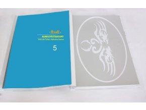 Airbrush tetováló sablon - Könyv 05