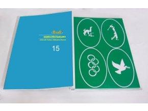 Airbrush tetováló sablon - Könyv 15