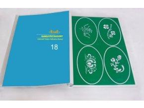 Airbrush tetováló sablon - Könyv 18