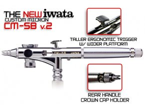 Iwata Custom Micron CM-SB