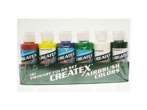 Createx Transparent Starter Set  (Primary set)