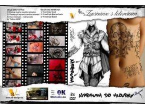DVD komplett - A tetoválás + airbrush alapos megkezdése