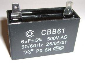 Indító kondenzátor 6uF