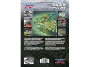 Airbrush sablon- iguana