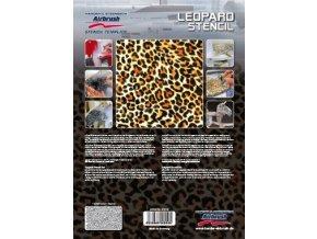 Airbrush sablon - leopárd
