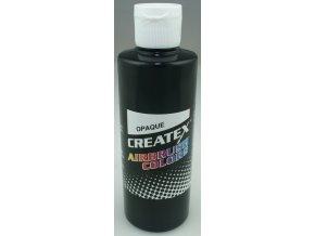 szín Createx opaque black 240ml