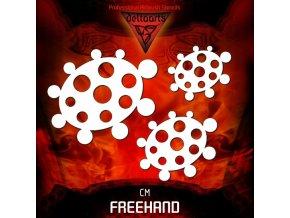 airbrush sablon freehand circle master set cm