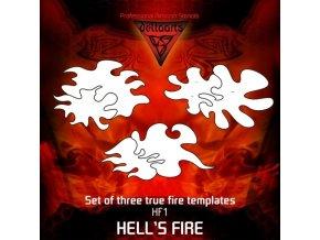 Airbrush sablon True fire hf1-mid