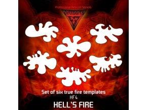 Airbrush sablon True fire hf4